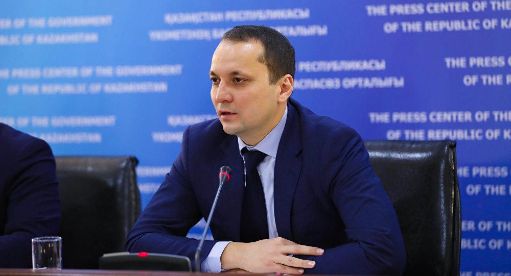 Вице-министр по инвестициям и развитию Тимур Токтабаев