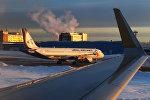 Самолет авиакомпании Ural Airlines (Уральские авиалинии), архивное фото