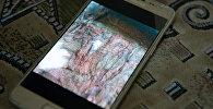 На фото изображен фрагмент штандарта периода Золотой орды. Артефакт - в ветхом состоянии и требует хранения в специальных условиях