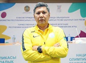 Главный тренер национальной сборной по боксу Галымбек Кенжебаев