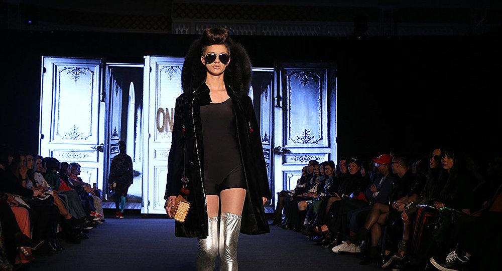 Архивное фото Kazakhstan Fashion Week в Алматы