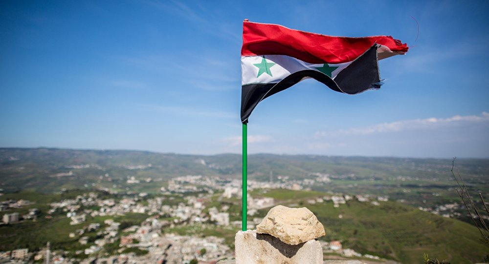 Сирия туы, көрнекі фото