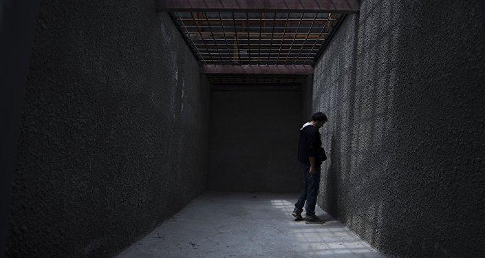 Архивное фото колонии для приговоренных к пожизненному заключению