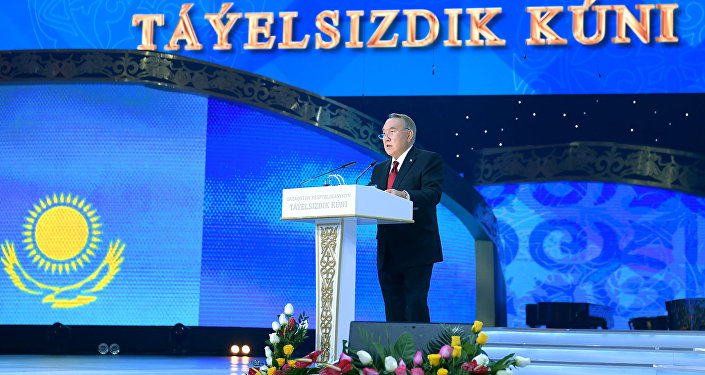 Нұрсұлтан Назарбаев Қазақстан халқын ұлттық мерекеміз – Тәуелсіздік күнімен құттықтады