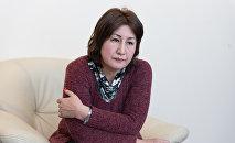 Старший инспектор-психолог Управления кадровой работы ДП Алматы Рима Сейлова
