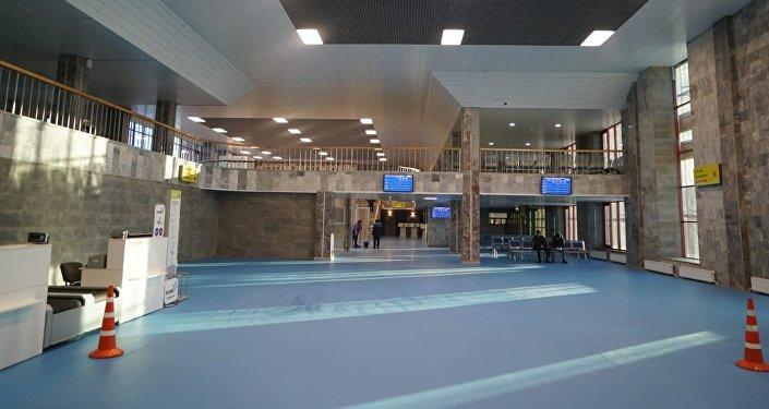 Реконструированный аэропорт в Семее