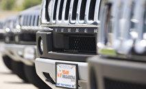 Автомобиль Hummer, архивное фото