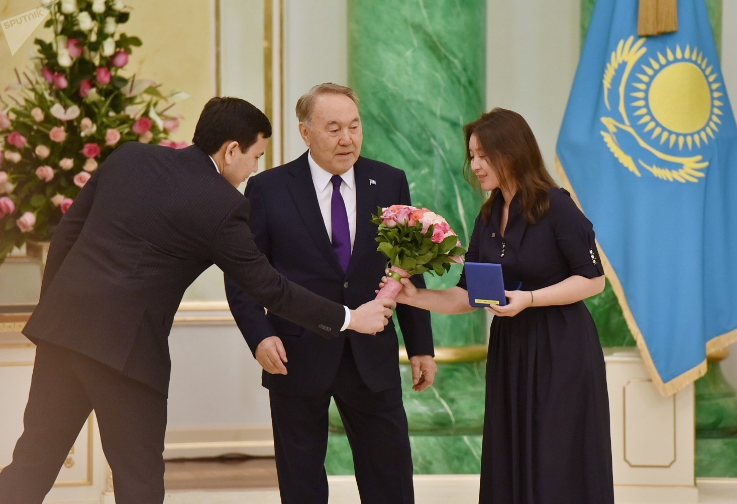 Киноактриса Самал Еслямова стала заслуженным деятелем Республики Казахстан