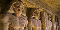 Гробница в Египте, в которой обнаружены 45 статуй