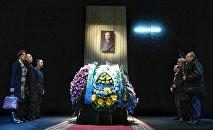 Панихида по композитору Алиби Мамлетову