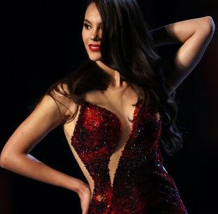 Мисс Филиппины Катриона Грей на конкурсе Мисс Вселенная 2018 в Таиланде