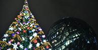 Церемония зажжения главной новогодней елки Нур-Султана