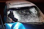 Мужчины попали в серьезное ДТП на угнанном авто