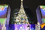 Новый год к нам мчится: как зажигали главную елку столицы