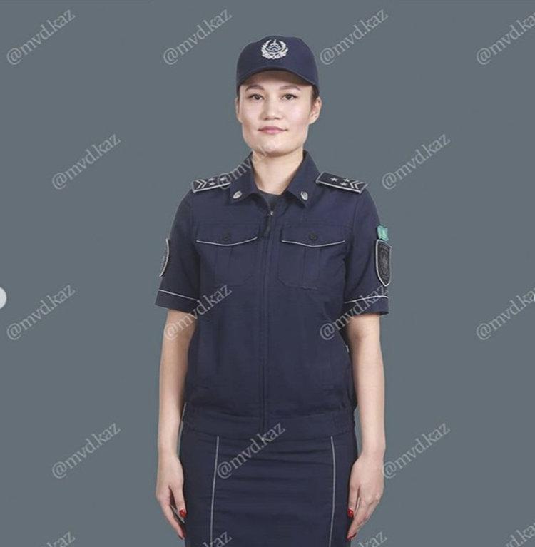 Вариант новой формы для женщин-полицейских