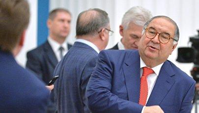 Основатель USM Holdings, президент Международной федерации фехтования Алишер Усманов