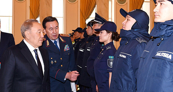 Жаңа полиция формасының таныстырылымы