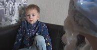 Четырехлетний Алеша Луговской