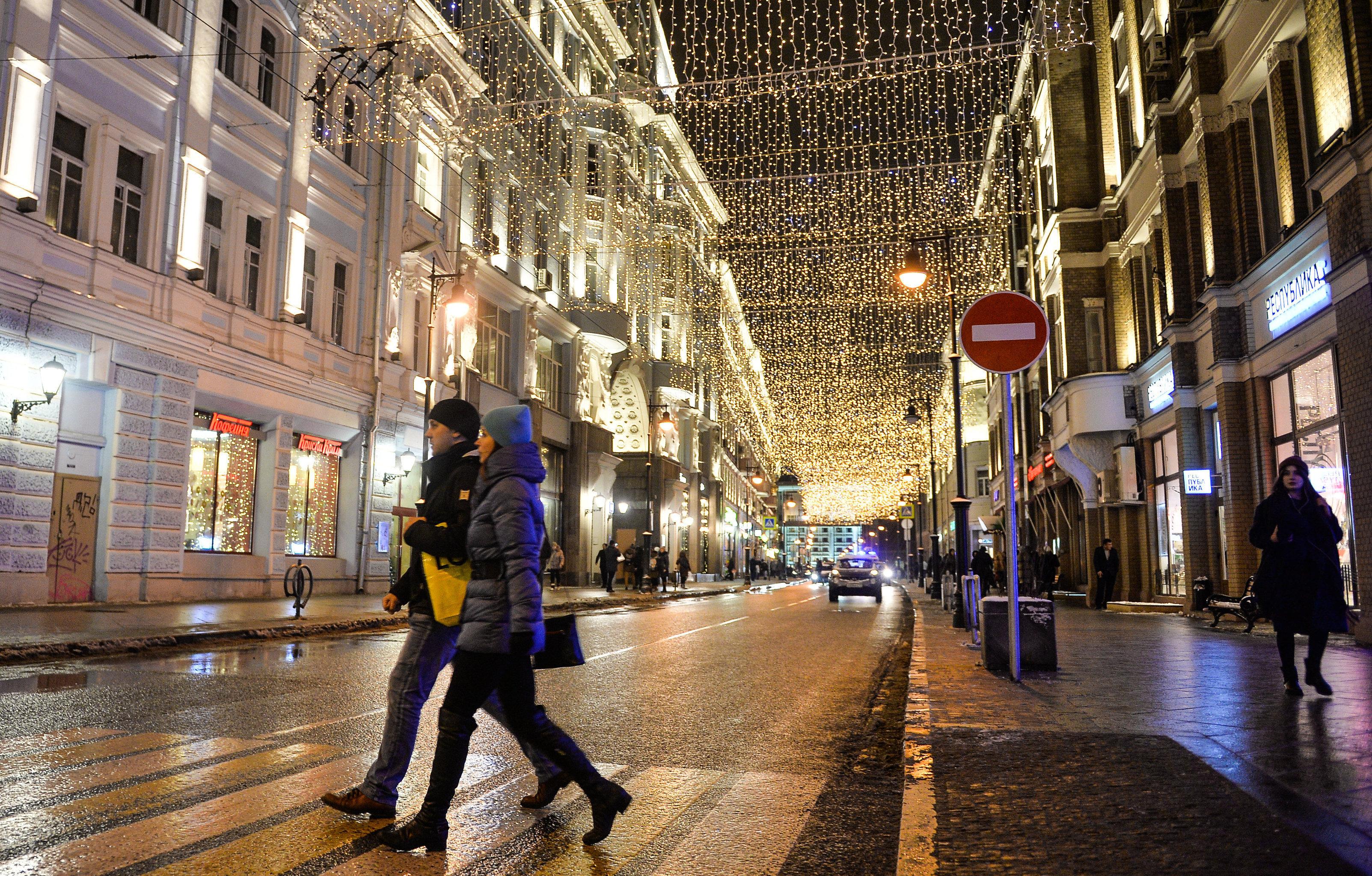 Мәскеудегі Рождество жарығы атты халықаралық фестиваль