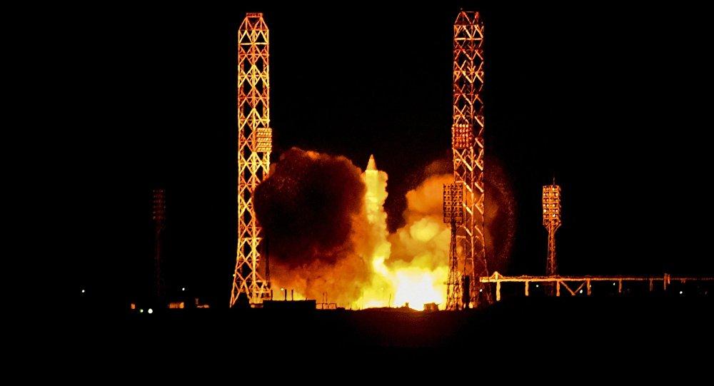 Пуск РН Протон-М, архивное фото