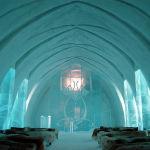 Отель Icehotel в Юккасъярви, Швеция