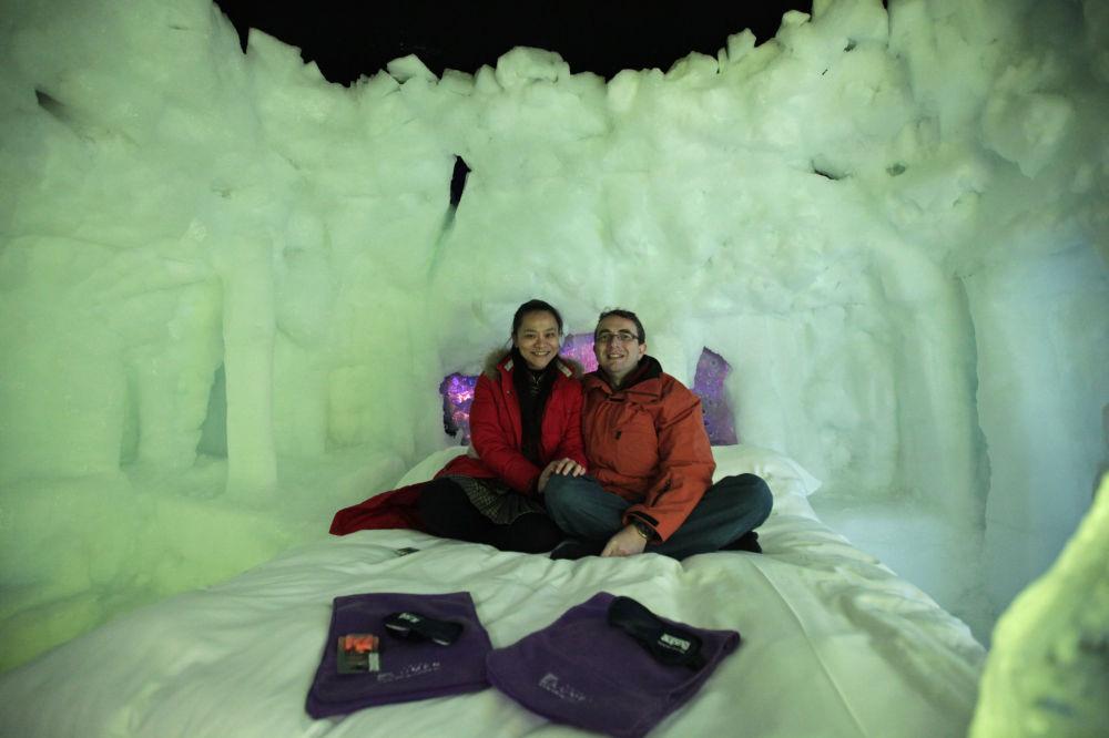 Первый ледяной отель в Голландии