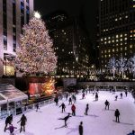 Нью-Йорктегі Рокфеллер орталығындағы рождество шыршасы.