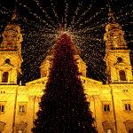 Будапештегі рождество шыршасы.