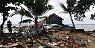 Угроза цунами сохраняется в прибрежных районах на островах Суматра и Ява в Индонезии