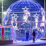 Новогоднее оформление Алматы - 2019