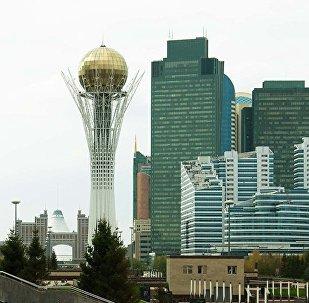 Астана, монумент Байтерек