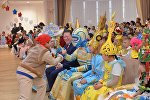 Образ Цифровой Казахстан победил на конкурсе новогодних костюмов