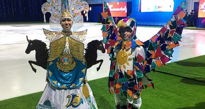 Новогодние костюмы Рухани Жанғыру и Астана победили в 2017 году