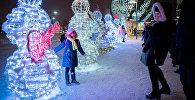 Новогоднее оформление в Астане