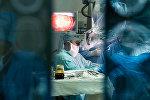 Нейрохирургическая операция, архивное фото