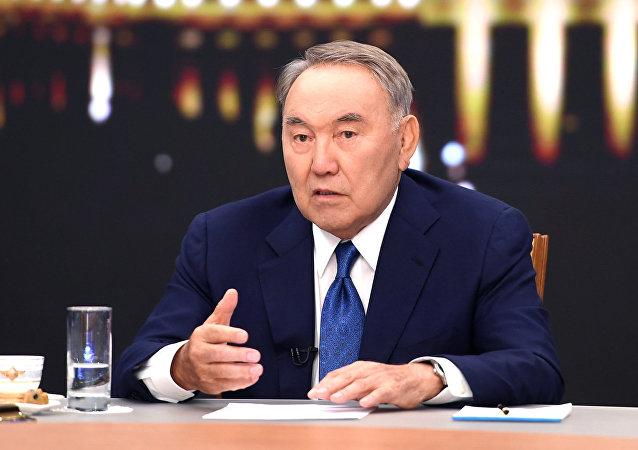 Президент Казахстана Нурсултан Назарбаев, интервью казахстанским СМИ