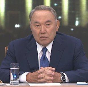 Назарбаевтың қазақстандық БАҚ-қа берген сұхбаты – толық видео