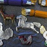 Новогодние игрушки из коллекции Музея Москвы