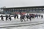 Зимний марафон, архивное фото