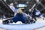 Матч Казахстан - США на молодежном чемпионате мира