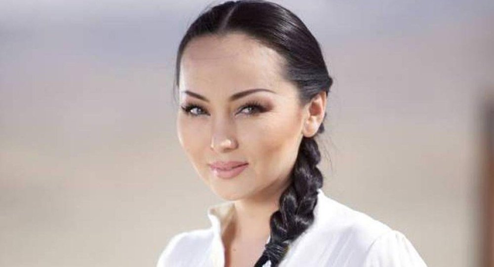 Архивное фото Баян Есентаевой