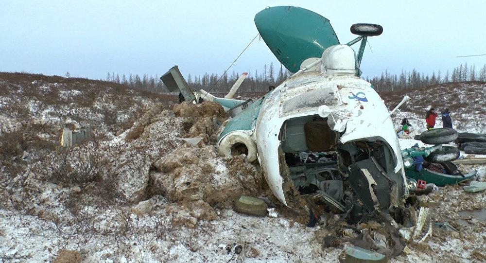 Скол әуе компаниясының Ми-8 тікұшағының апаты