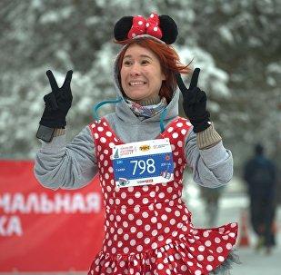 Участники новогоднего марафона