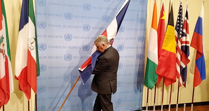 В штаб-квартире ООН состоялась церемония установки флагов новых участников Советиа безопасности организации