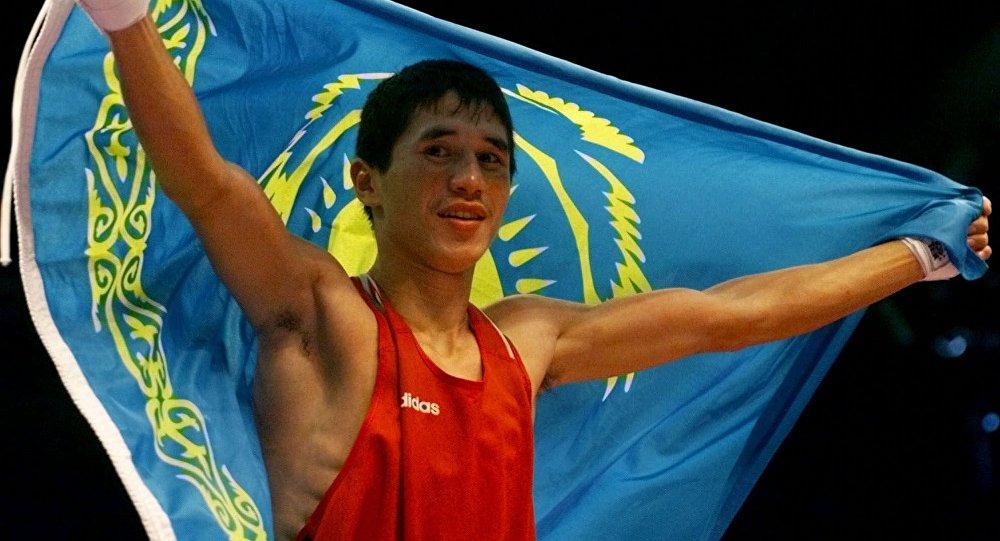 Олимпиада чемпионы Бекзат Саттарханов