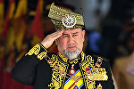 Король Малайзии Мухаммад V, архивное фото