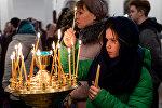 Рождественская служба в Свято-Вознесенском соборе