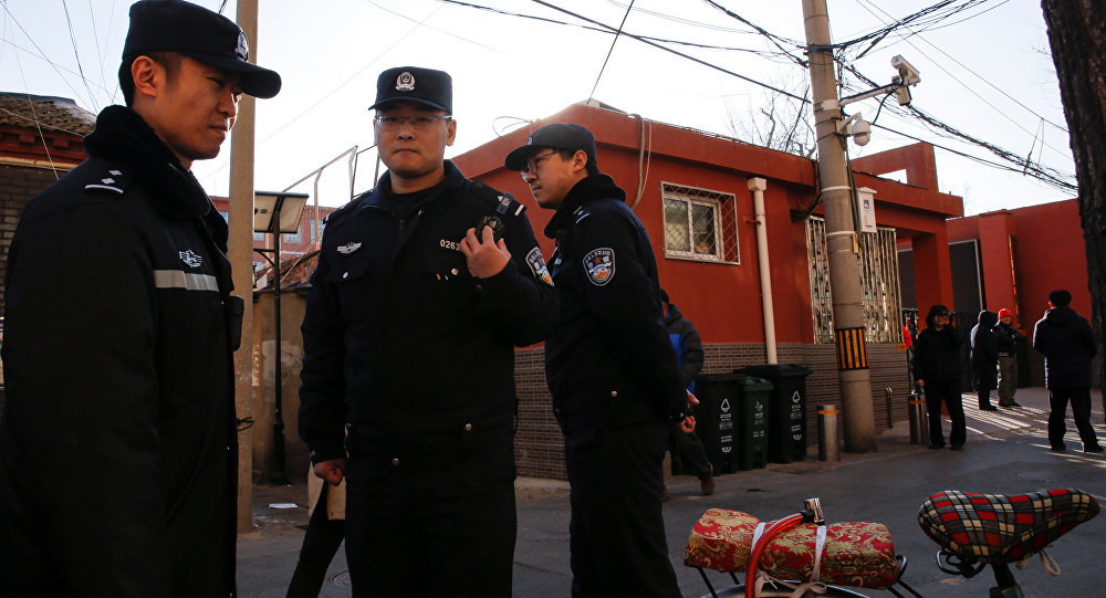 Қытай полициясы