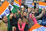 Общенациональная забастовка в Индии