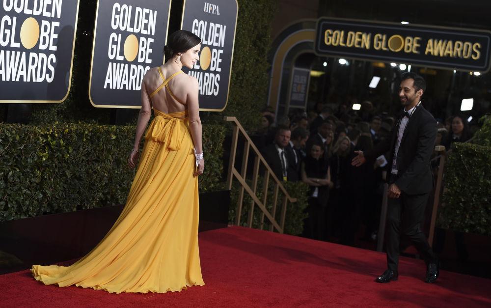 Актриса Рэйчел Броснахэн на церемонии вручения премии Золотой глобус в Калифорнии